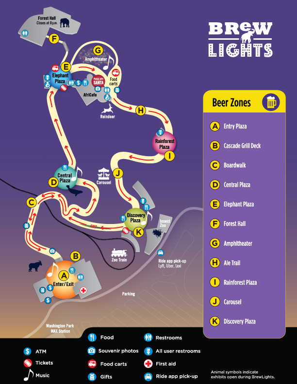 BrewLights 2019 map