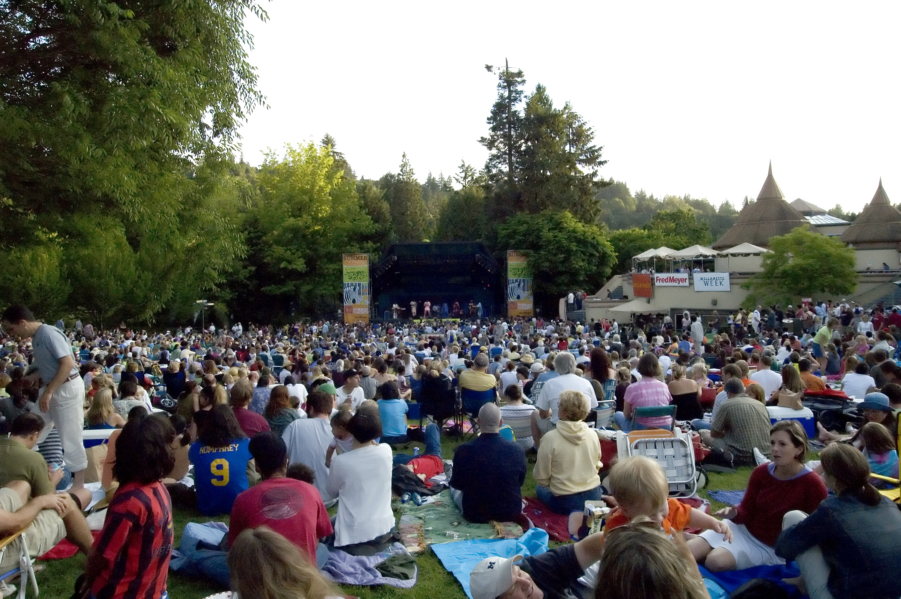 summer concert series Oregon Zoo