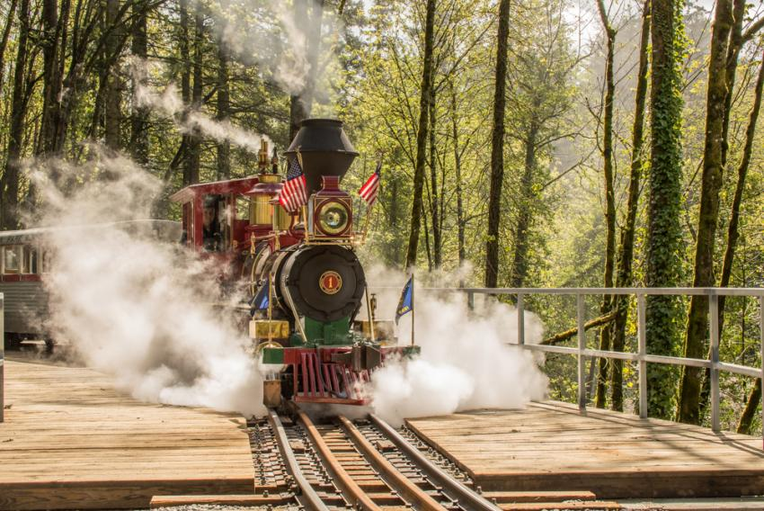 All aboard! Free rides May 27 as zoo train resumes service | Oregon Zoo